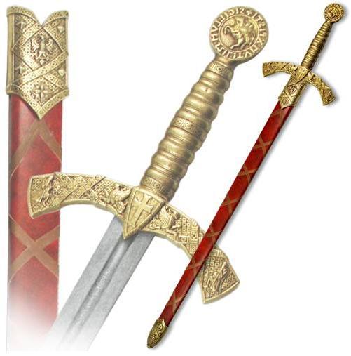 Меч Тамплиера в ножнах (XII в.) - купить сувенирные мечи в разделе декоративного оружия в Санкт-Петербурге